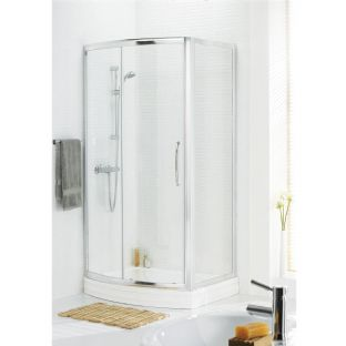 Lakes Bow Fronted Slider Door 1200 x 1850